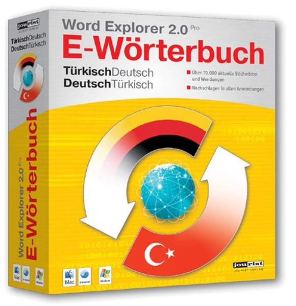 Word Explorer 2.0 Pro Türkisch-Deutsch, Deutsch...