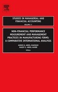Non-Financial Performance Measurement and Management Practices in Manufacturing Firms: A Comparative International Analysis