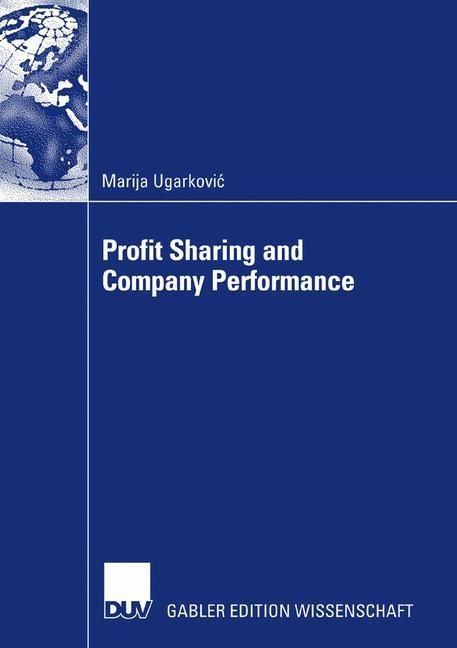 Profit Sharing and Company Performance als Buch...