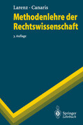 Methodenlehre der Rechtswissenschaft
