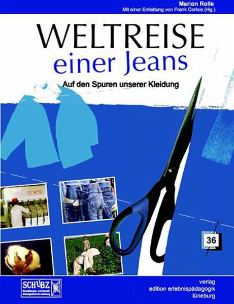 Weltreise einer Jeans als Buch