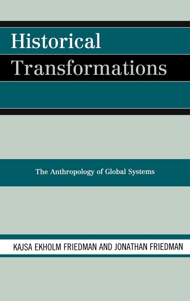 Historical Transformations als Buch (gebunden)