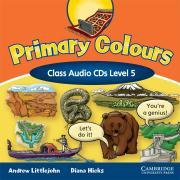 Primary Colours Level 5 Class Audio CDs