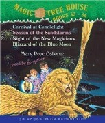 Magic Tree House: Books 33-36: #33 Carnival at Candlelight; #34 Season of the Sandstorms; #35 Night of the New Magicians; #36 Blizzard of the Blue Mo