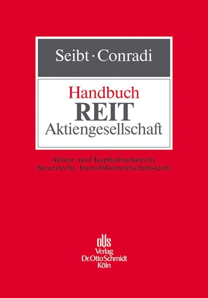 Handbuch REIT-Aktiengesellschaft als Buch von U...