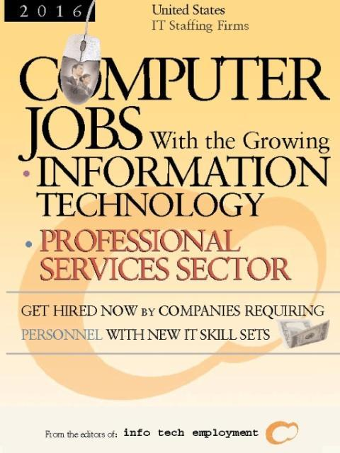 Computer Jobs With IT Staffing Firms - With the...