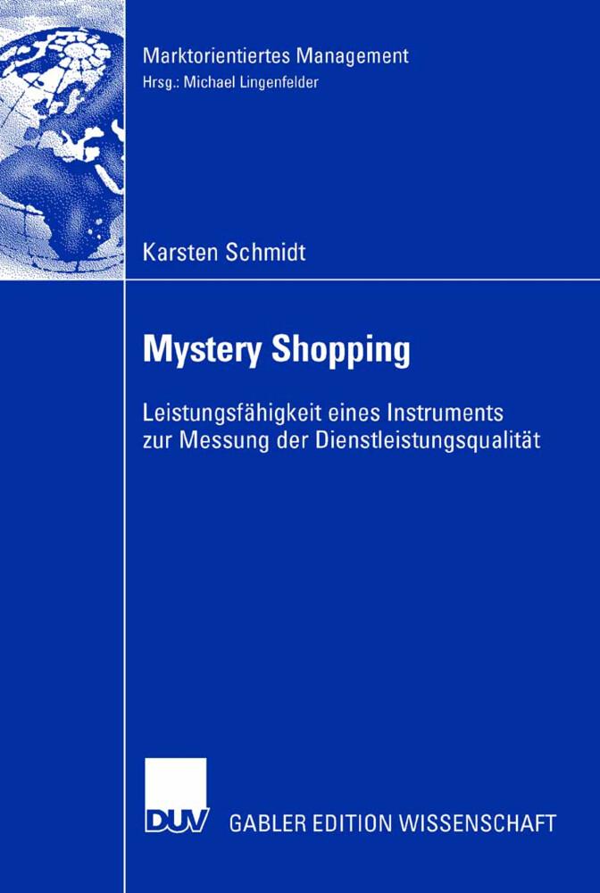 Mystery Shopping als Buch von Karsten Schmidt