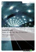 State of the Art des IT-Service Managements