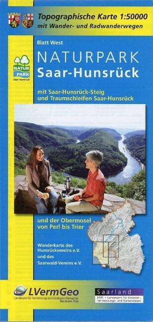 Naturpark Saar-Hunsrück. Blatt West als Buch vo...