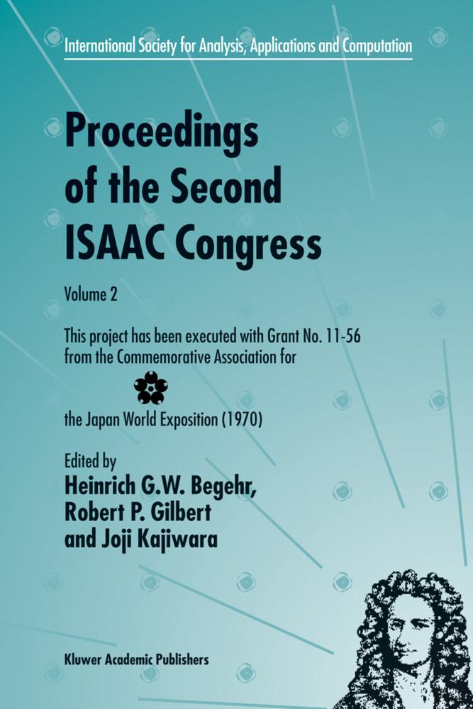 Proceedings of the Second ISAAC Congress als Buch (gebunden)