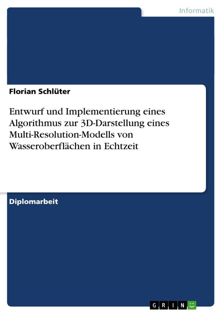 Entwurf und Implementierung eines Algorithmus z...