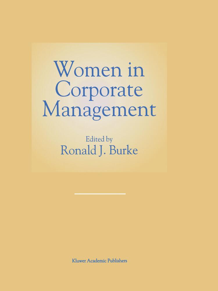 Women in Corporate Management als Buch (gebunden)