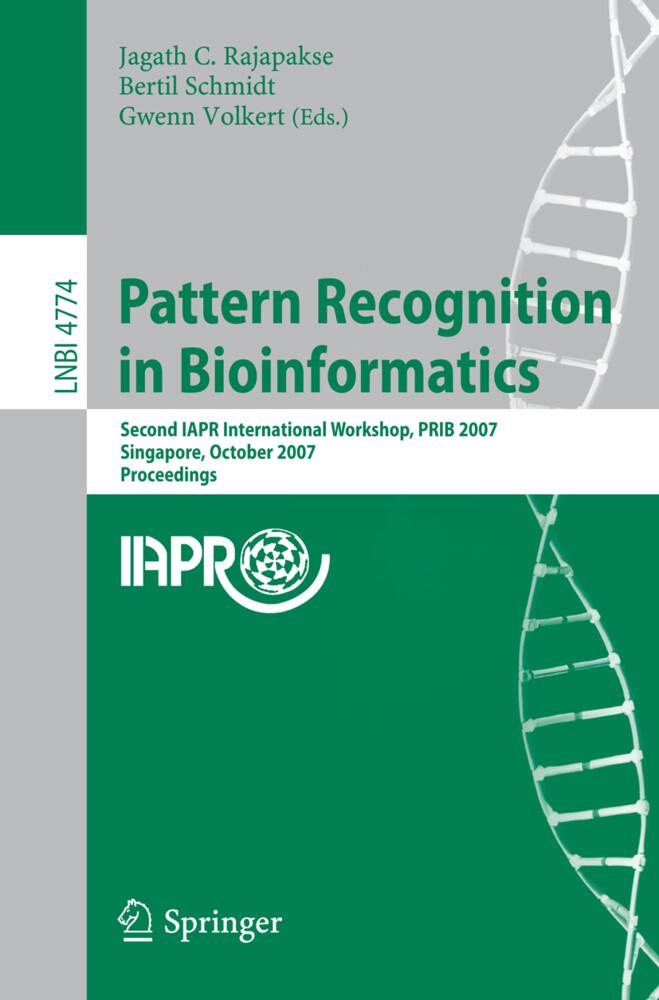 Pattern Recognition in Bioinformatics als Buch (kartoniert)