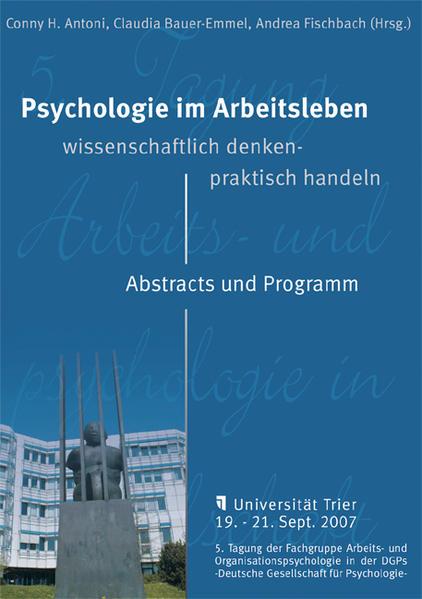 Psychologie im Arbeitsleben: Wissenschaftliche ...