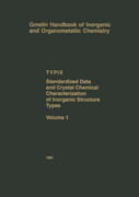 TYPIX - Standardized Data and Crystal Chemical Characterization of Inorganic Structure Types. Vol.1