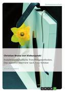 Sozialwissenschaftliche Forschungsmethoden. Das narrative Interview nach Fritz Schütze