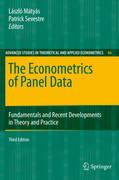 The Econometrics of Panel Data