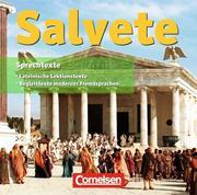 Salvete. CD zu den Schülerbüchern und Arbeitsheften (Band 1 und 2)