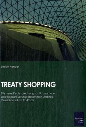 Treaty Shopping als Buch von Stefan Renger