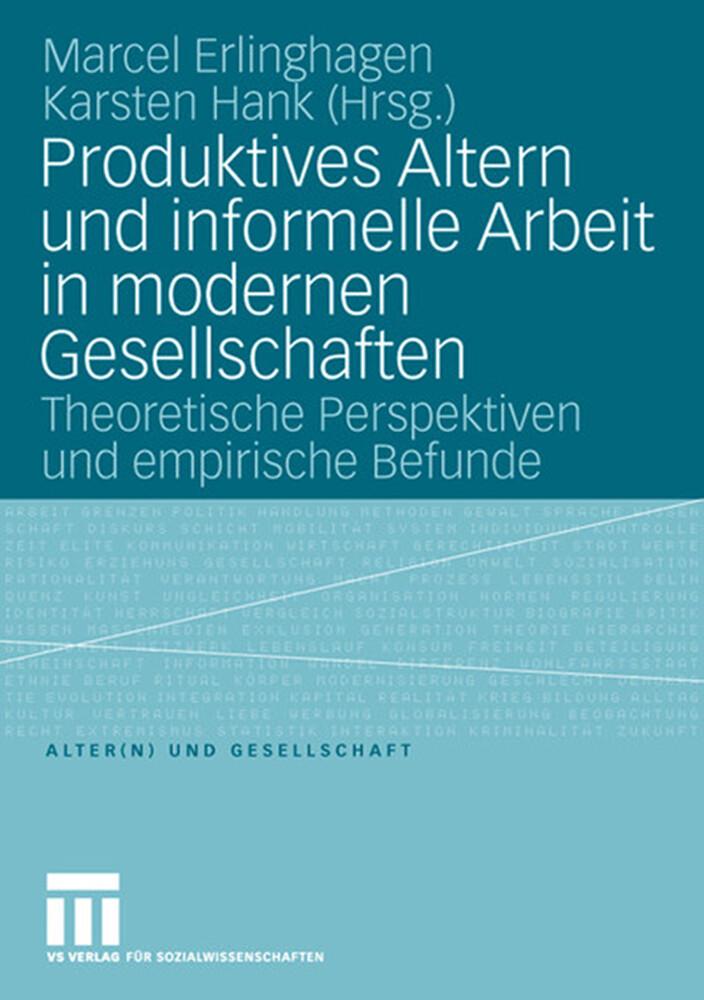 Produktives Altern und informelle Arbeit in mod...