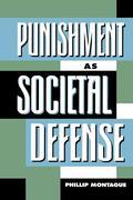 Punishment as Societal-Defense