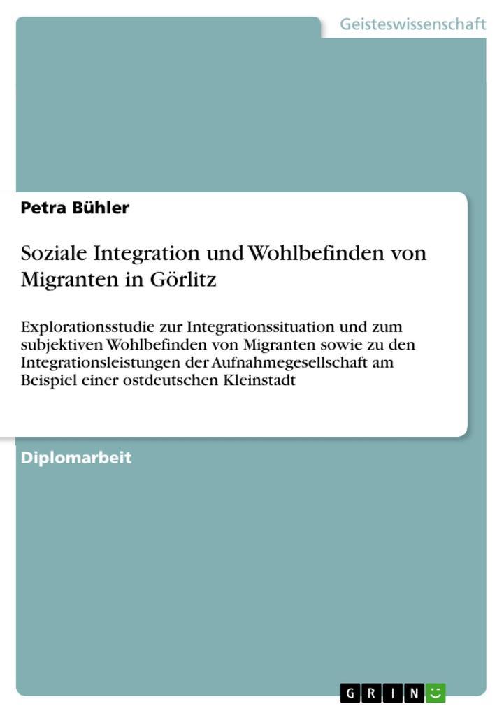 Soziale Integration und Wohlbefinden von Migran...