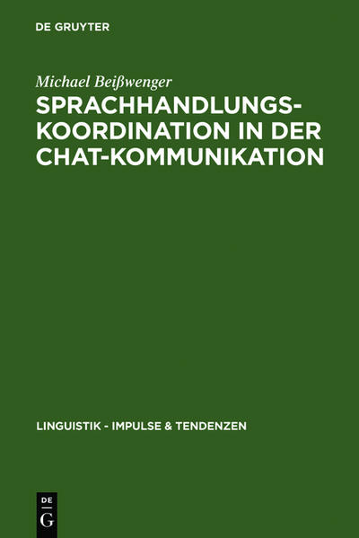 Sprachhandlungskoordination in der Chat-Kommuni...