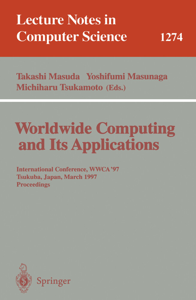 Worldwide Computing and Its Applications als Bu...