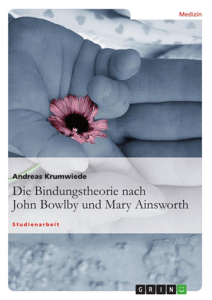 Die Bindungstheorie nach John Bowlby und Mary Ainsworth als Buch