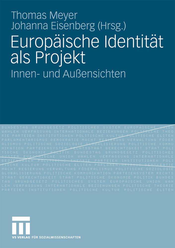 Europäische Identität als Projekt als Buch von