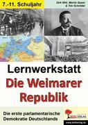 """Lernwerkstatt """"Die Weimarer Republik"""""""