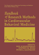 Handbook of Research Methods in Cardiovascular Behavioral Medicine