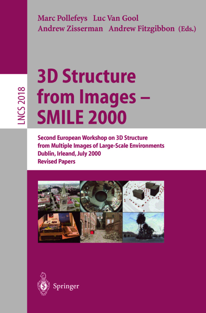 3D Structure from Images - SMILE 2000 als Buch von