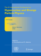 Proceedings of The IX International Conference on Hypernuclear and Strange Particle Physics