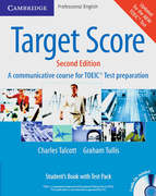Target Score for TOEIC. Student's Book with Test Pack