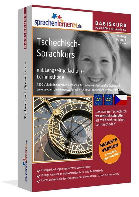 Sprachenlernen24.de Tschechisch-Basis-Sprachkur...