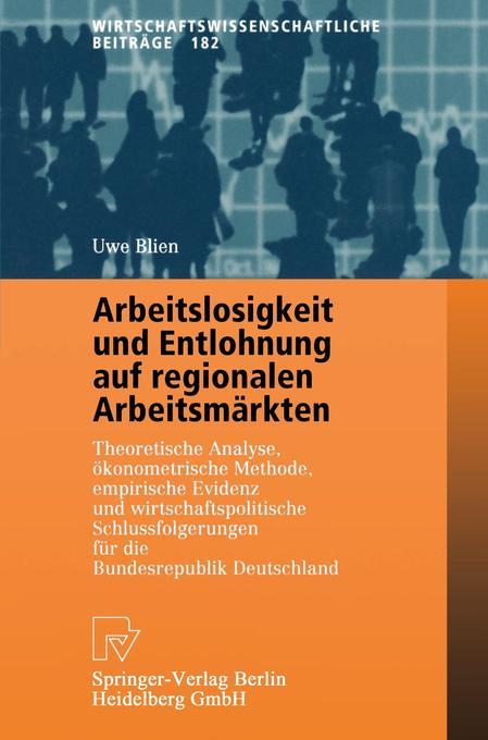 Arbeitslosigkeit und Entlohnung auf regionalen ...