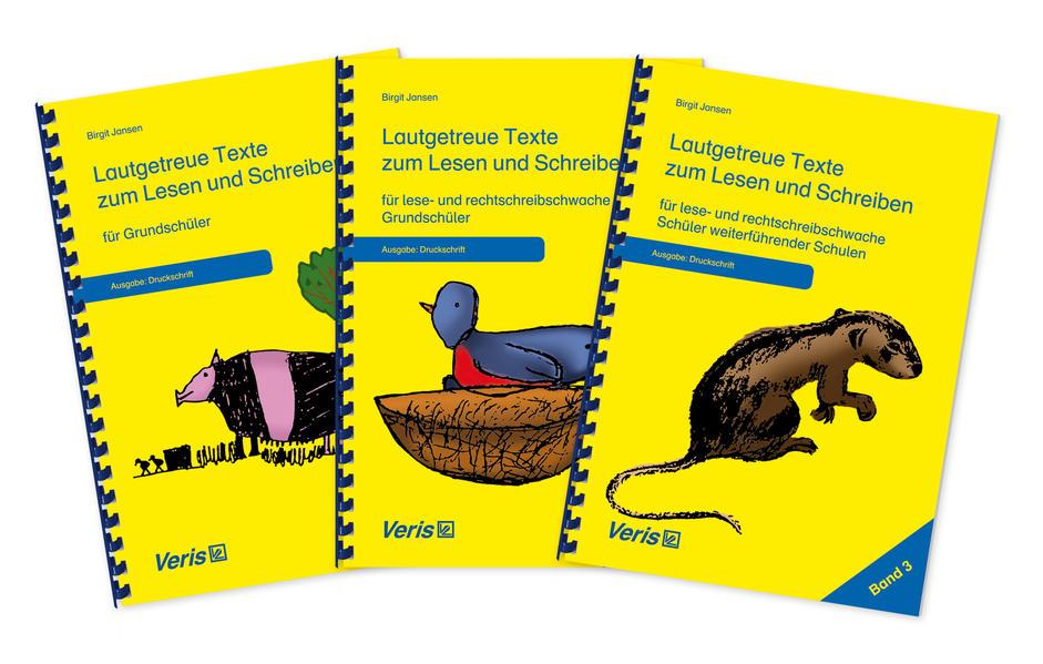 Lautgetreue Texte / Paket Lautgetreue Text 1-3....