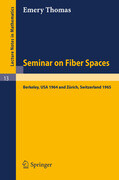 Seminar on Fiber Spaces