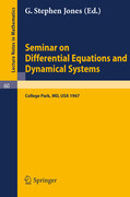 Seminar on Differential Equations and Dynamical Systems