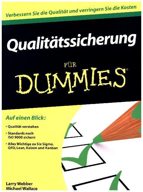 Qualitätssicherung für Dummies als Buch von Lar...