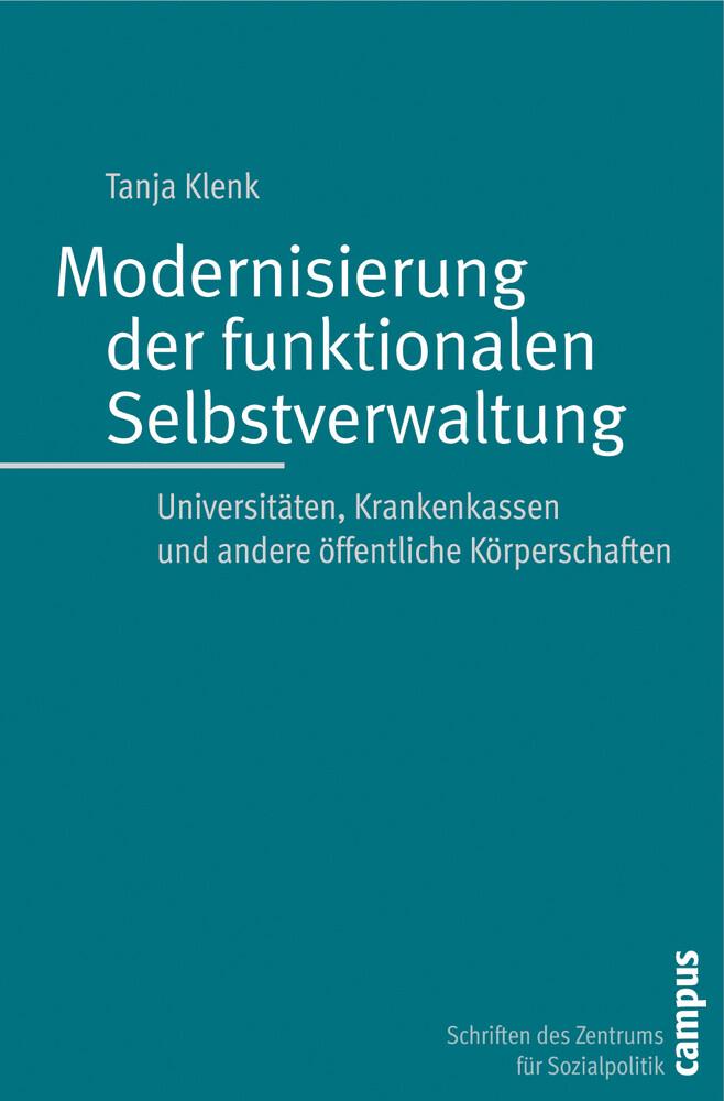 Modernisierung der funktionalen Selbstverwaltun...