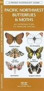 Pacific Northwest Butterflies & Moths: A Folding Pocket Guide to Familiar Species