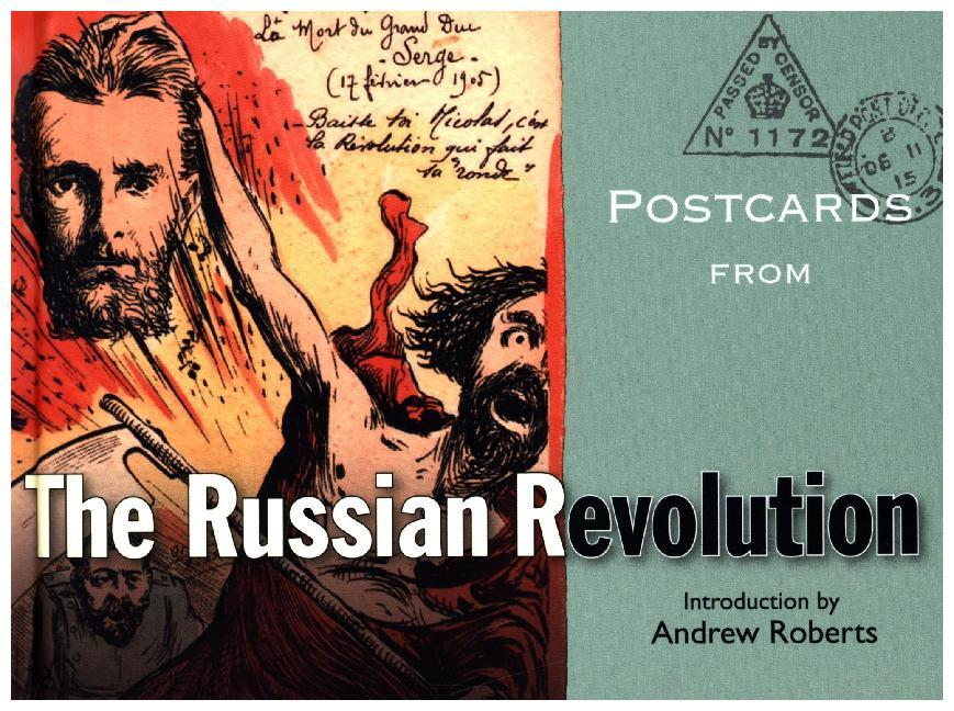 Postcards from the Russian Revolution als Buch ...