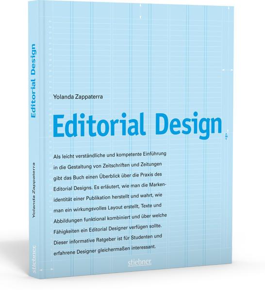 Editorial Design als Buch von Yolanda Zappaterra