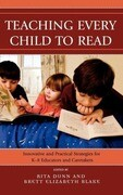 Teaching Every Child to Read: Innovative and Practical Strategies for K-8 Educators and Caretakers