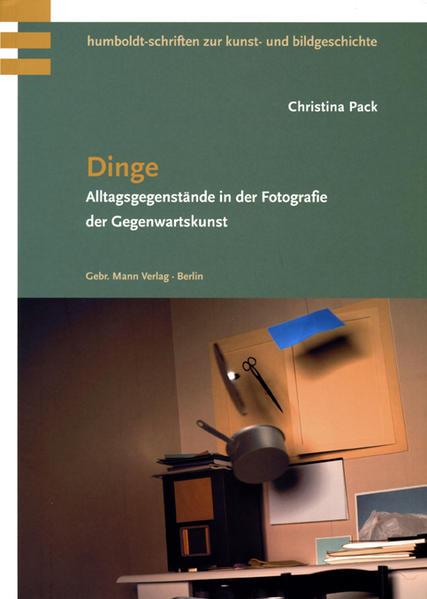 Dinge als Buch von Christina Pack