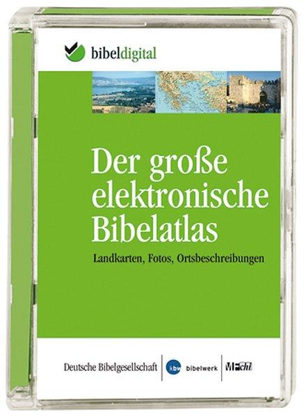 Der große elektronische Bibelatlas. CD-ROM