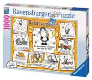 Ravensburger Puzzle - Du bist wunderbar, 1000 Teile