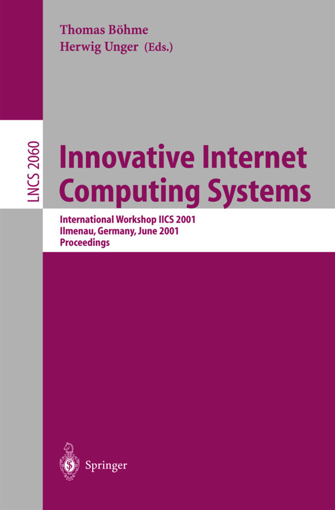 Innovative Internet Computing Systems als Buch von